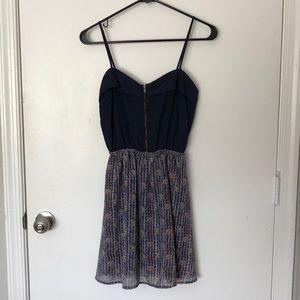 Women's zip front dress